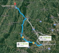 From DC to Hagerstown and Back Again
