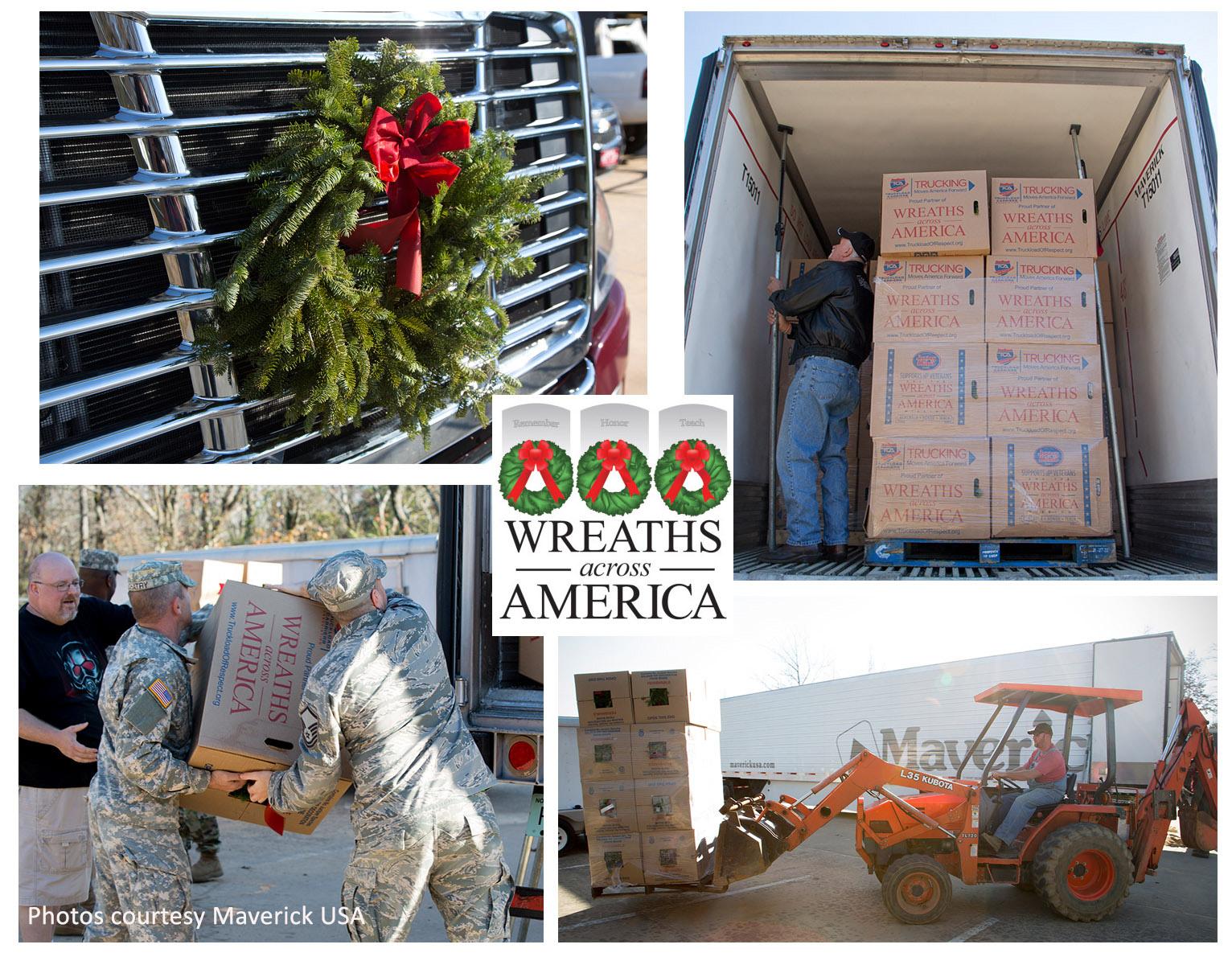 Trucking Wreaths Across America